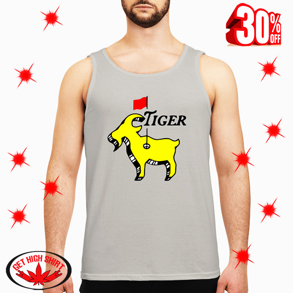 Tiger woods goat masters tank top