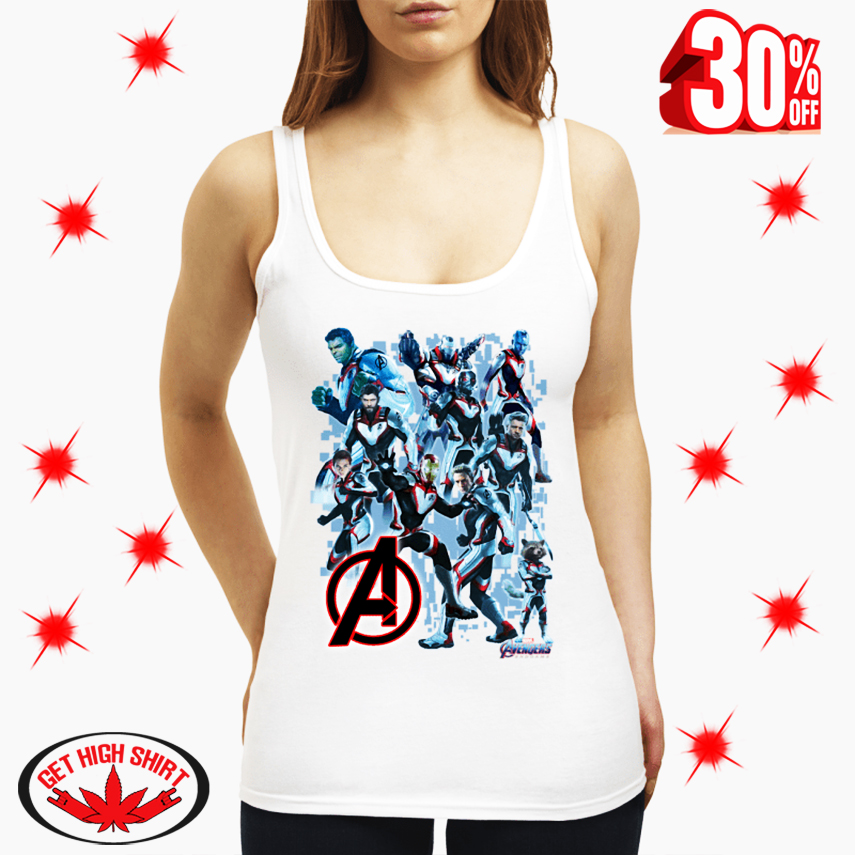 Uniform Avengers Suits Endgame tank top