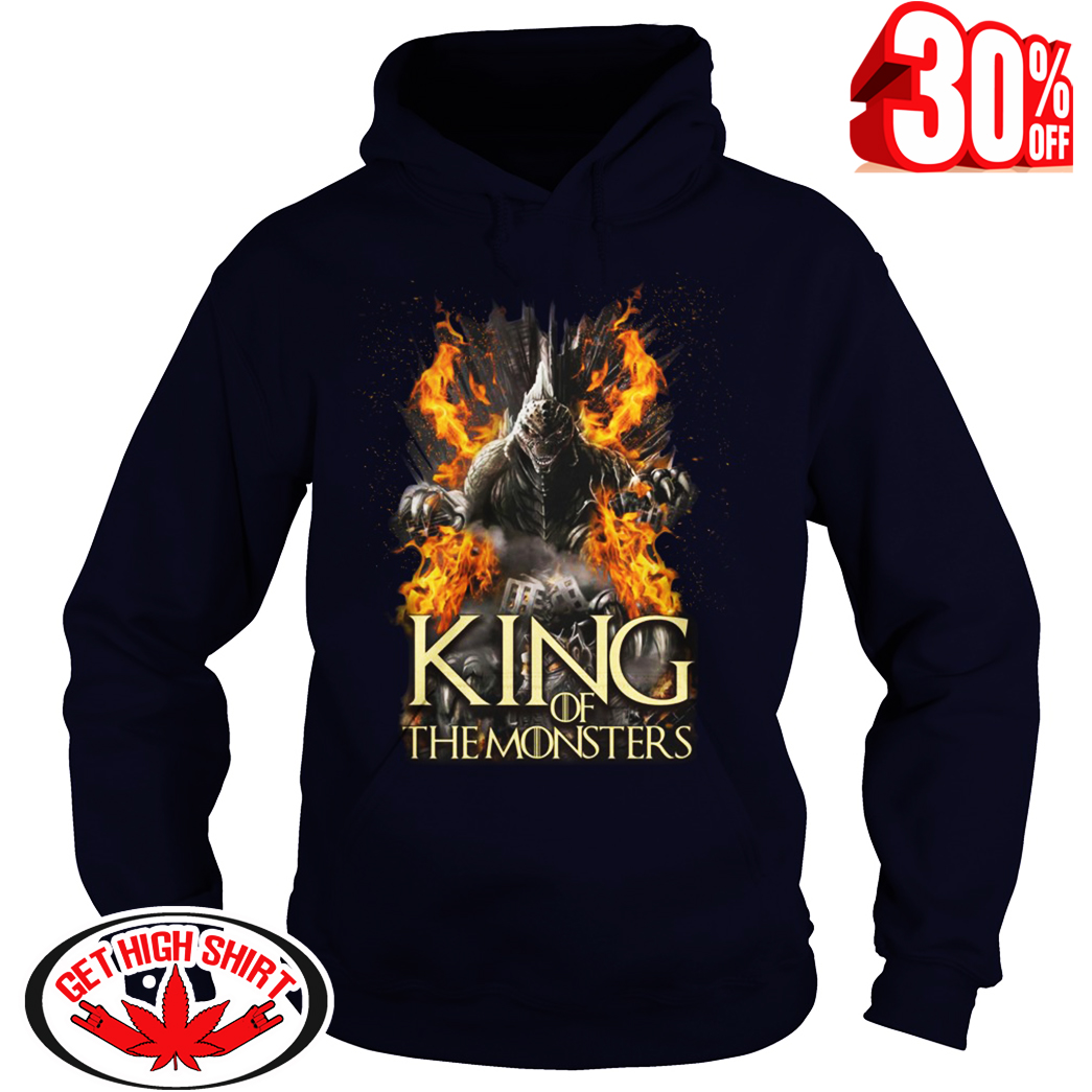 Godzilla King of the Monsters Game Of Thrones hoodie