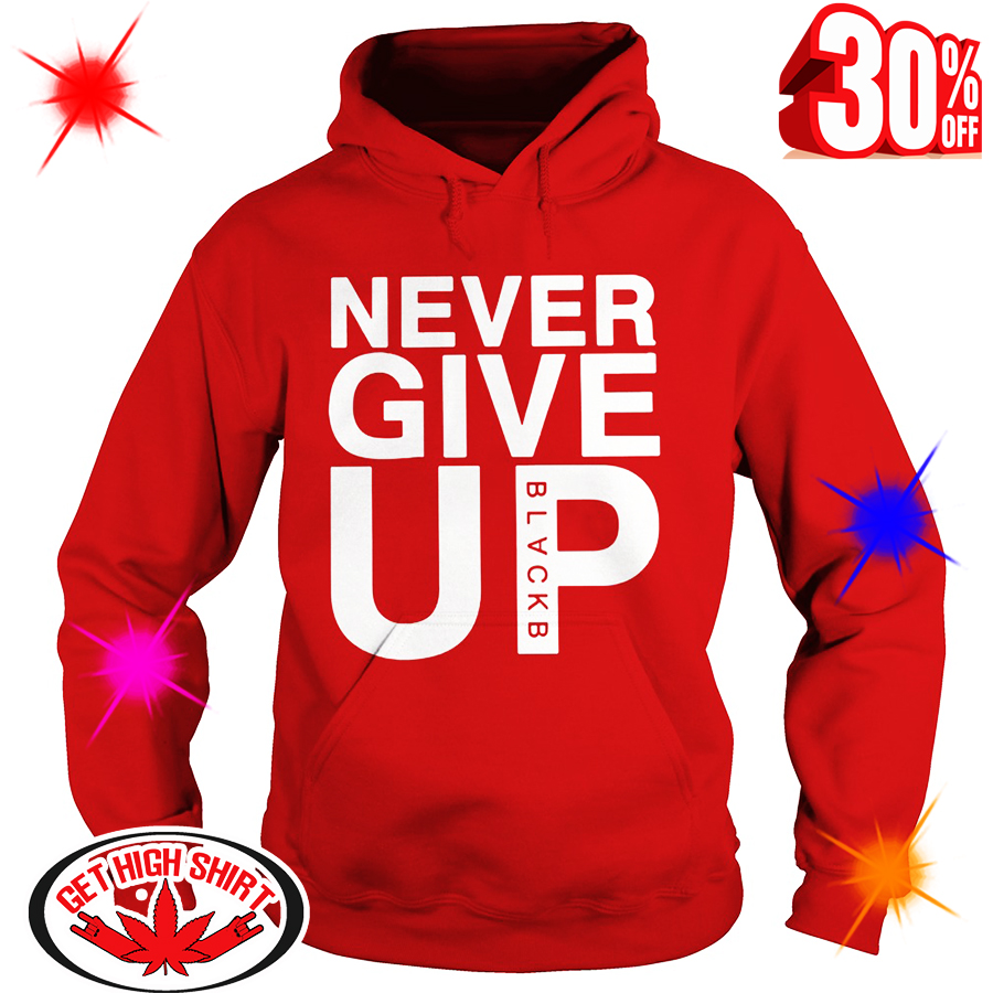 Nice – Salah Never Give up Blackb shirt