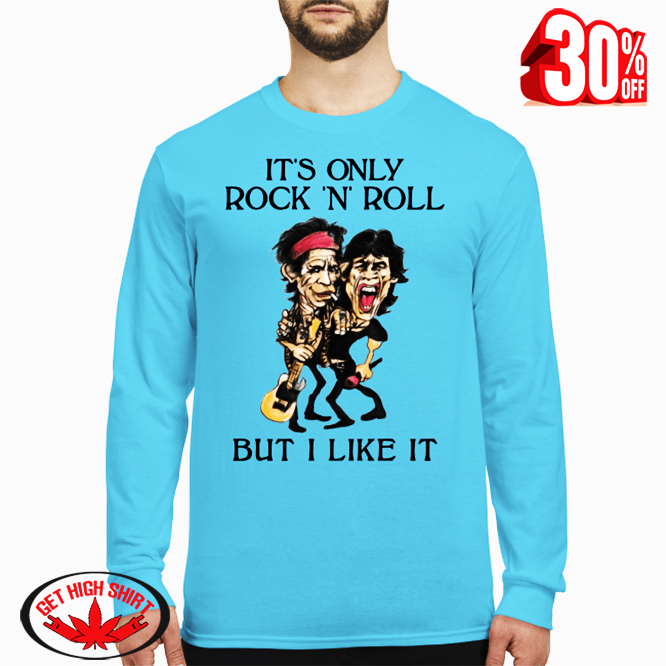 The Rolling Stones It's only rock 'n' roll but I like it long sleeved t-shirt