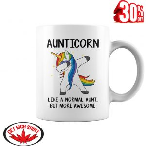 Auticorn like a normal aunt but more awesome mug