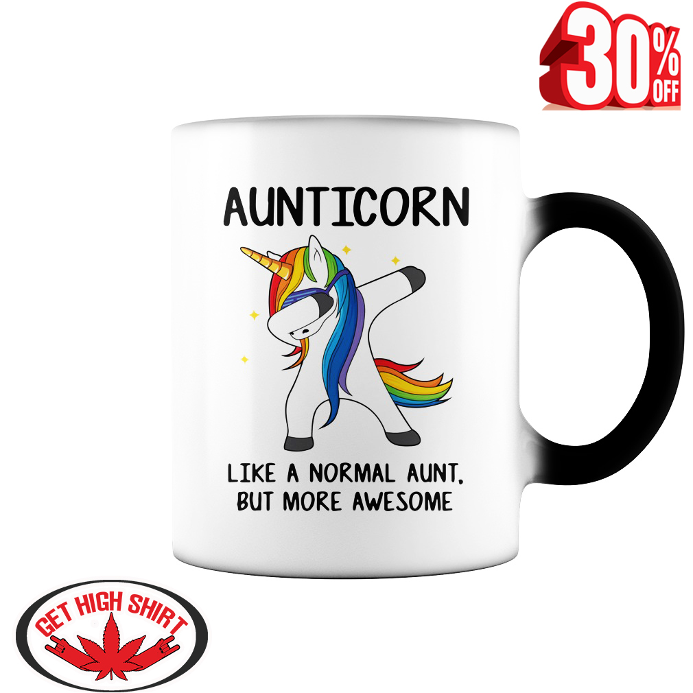 Auticorn like a normal aunt but more awesome mug style 2 - color change