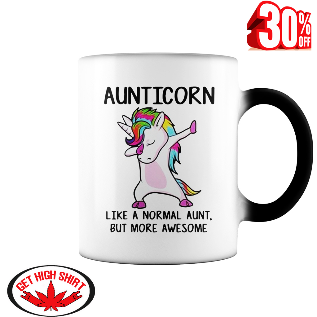 Auticorn like a normal aunt but more awesome mug syle 1 - color change