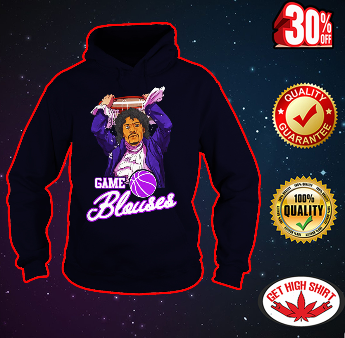 Game Blouses Chappelle's Show hoodie