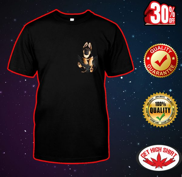 German Shepherd Pocket shirt