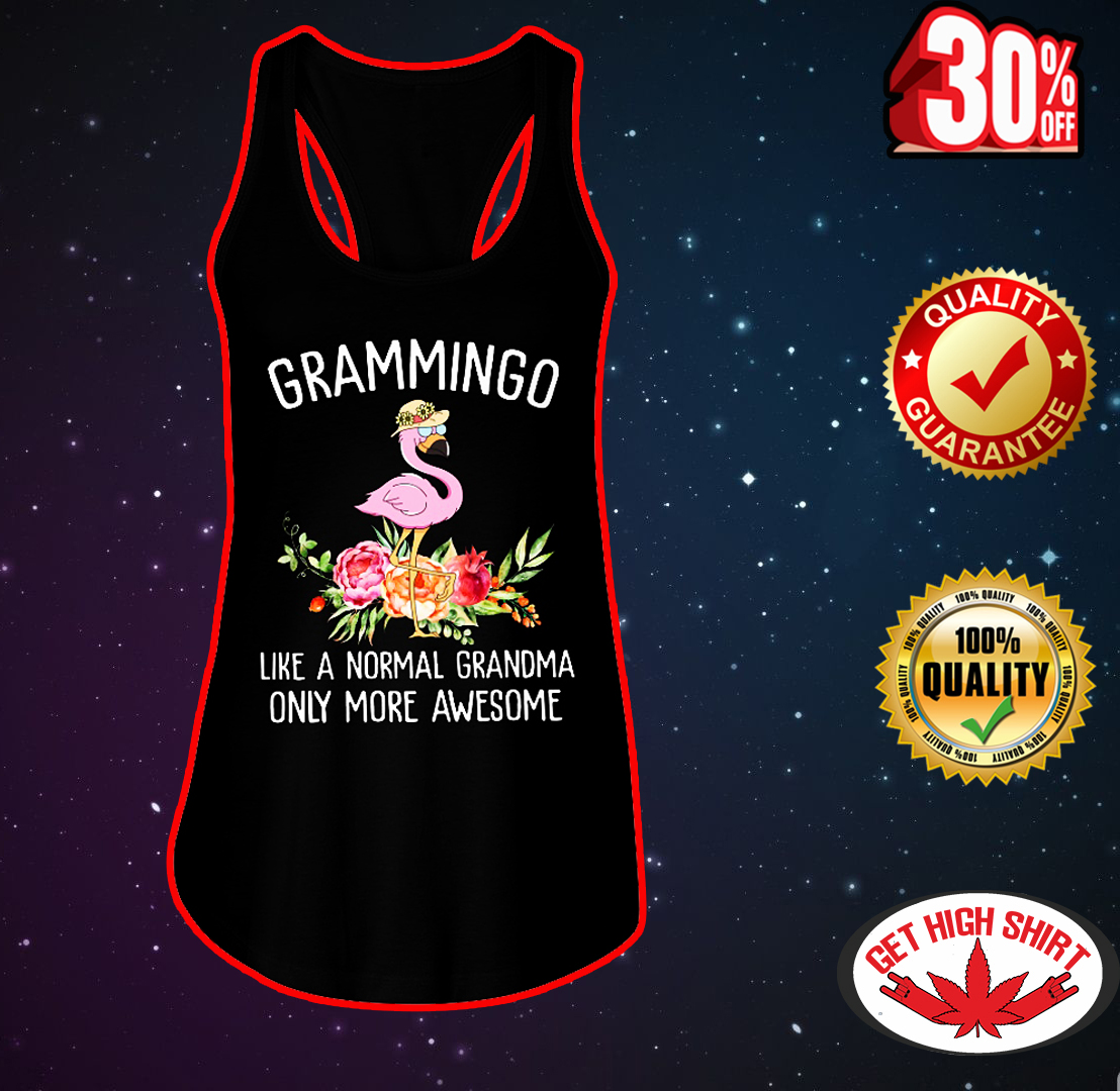 Grammingo like a normal grandma only more awesome flowy tank