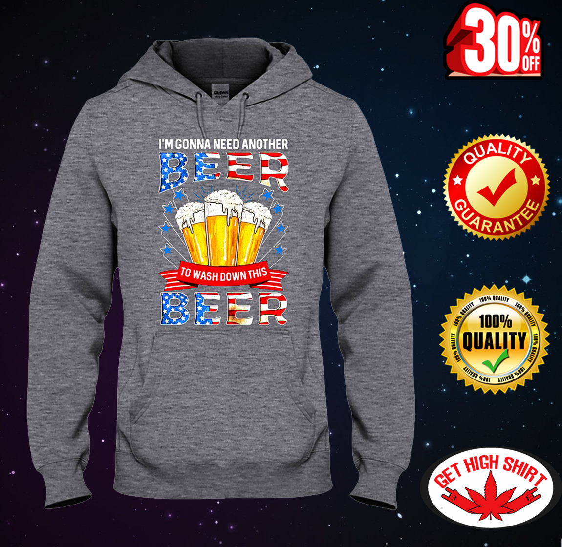 I'm gonna need another beer to wash down this beer hooded sweatshirt