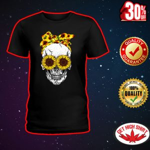 Lady Skull Sunflower shirt