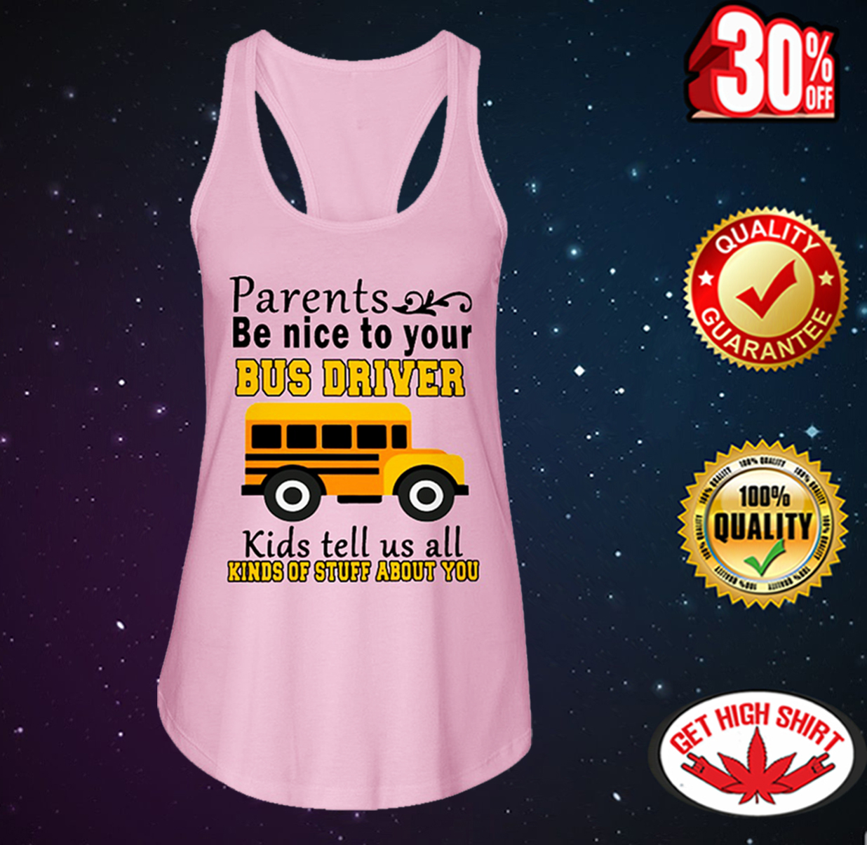 Parents be nice to your bus driver kids tell us all kinds of stuff about you flowy tank
