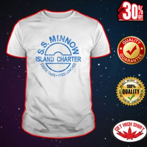S.S. Minnow island charter exotic trips free lunches shirt