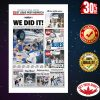 We did it Stanley Cup Final Edition St. Louis Post-Dispatch poster