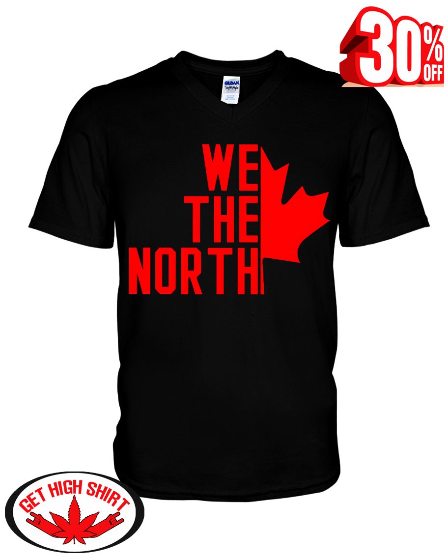 We the north Canada v-neck t-shirt
