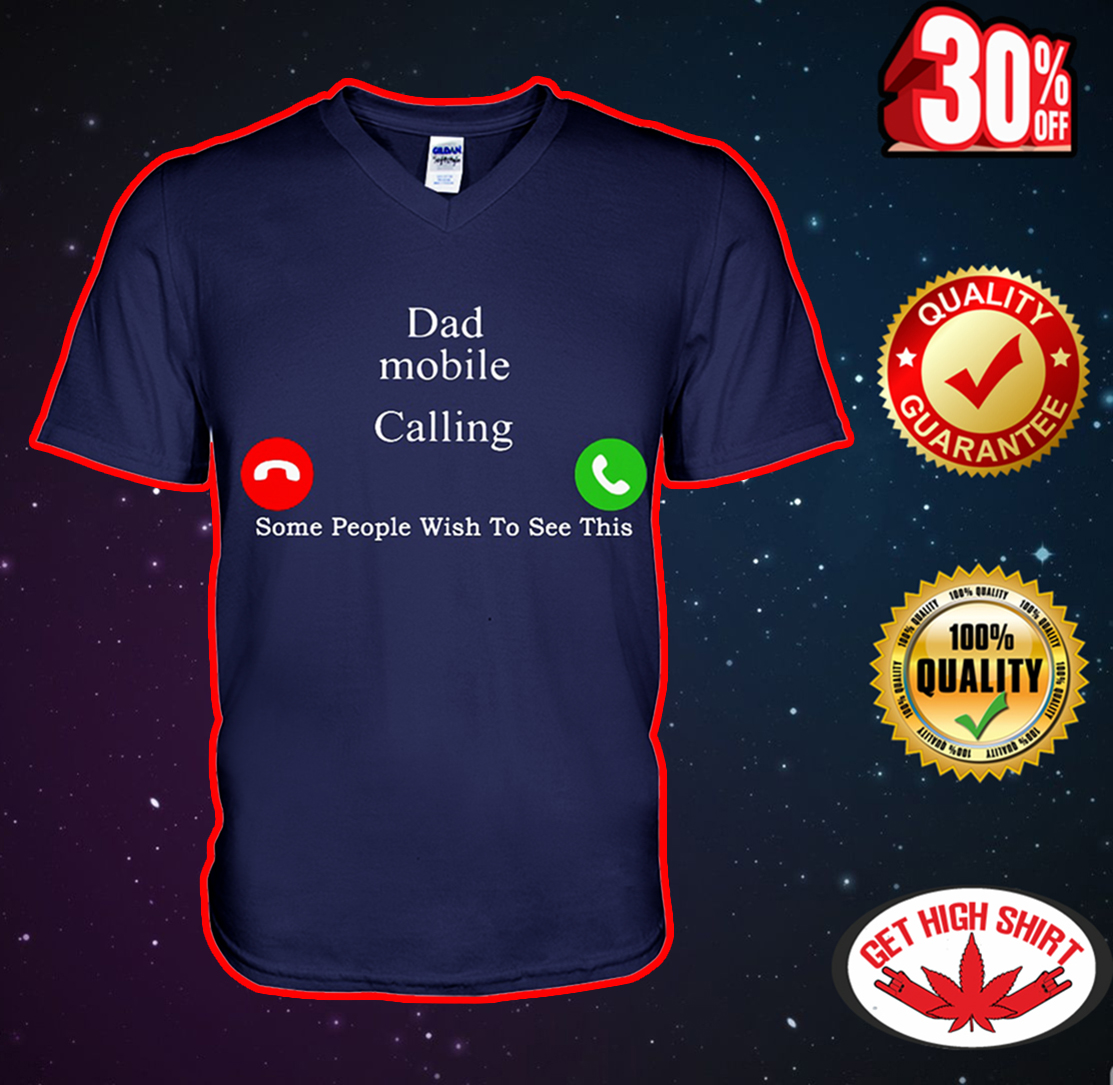 Dad mobile calling some people wish too see this v-neck