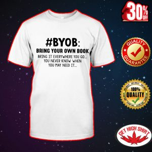 #BYOB bring your own book shirt