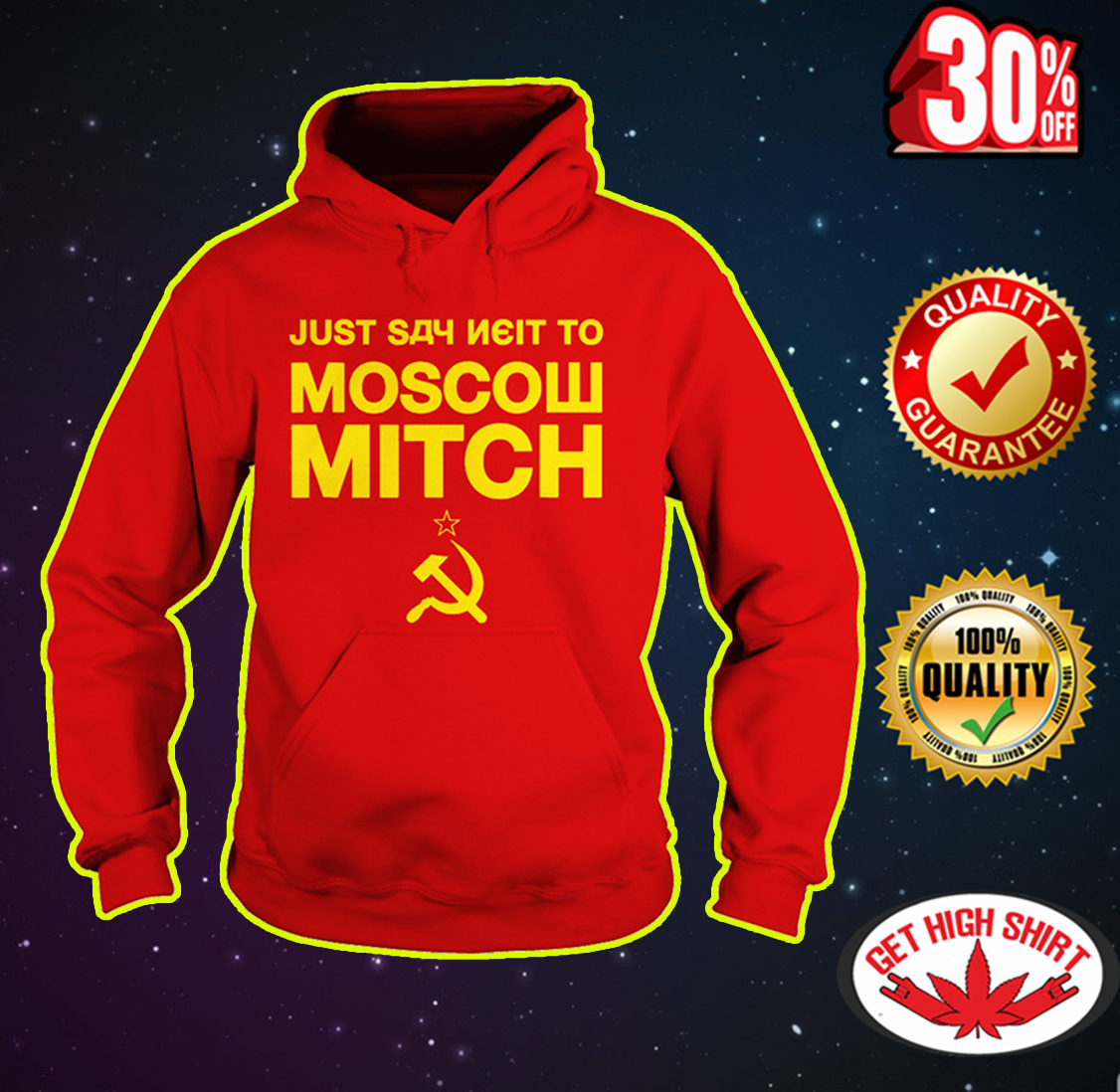 Just Say Neit To Moscow Mitch hoodie