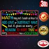 Math may not teach us how to add love poster