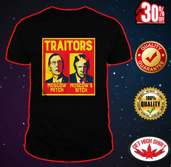 Traitors Ditch Moscow Mitch shirt