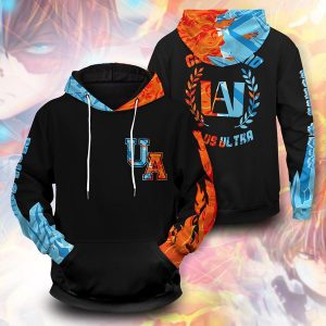 Shoto Fire Ice 3d pullover hoodie