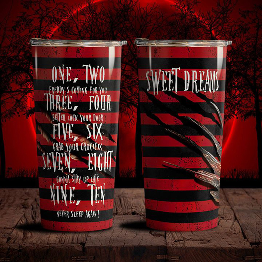 Sweet-Dreams-One-Two-Freddy-Coming-For-You-Tumbler-3